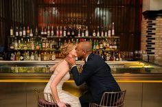 I DO I Congratulations again to Melanie and Marcell. Stunning couple! Photo: Ashley Hamm