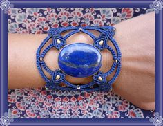 The Eye of Blue Flower by NagKanya on Etsy Blue Flowers, Cuff Bracelets, Eyes, Jewelry, Jewlery, Bijoux, Jewerly, Jewelery, Bangles