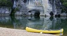 Buffalo National River, Arkansas  Great for canoe trips!