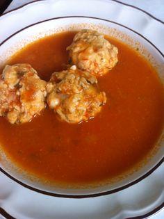 La comida de las abuelitas es inigualable, estas albóndigas de pollo son uno de mis platillos favoritos obviamente echas por mi Abue.