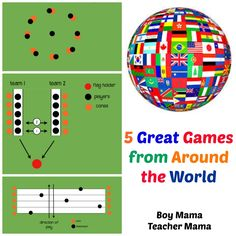 5 Great Games from Around the World- what a cool way to globalize learning in school or in play!