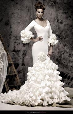 273 Best Spanish Inspired Wedding Dresses Images Wedding Dresses