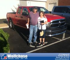 #HappyAnniversary to Charlotte  Fowler on your 2013 #Ram #1500 from James Kristensen at Wolfchase Chrysler Jeep Dodge!