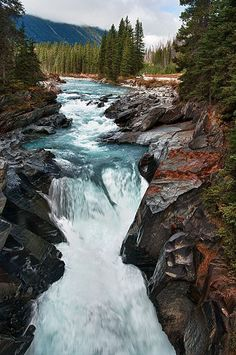 Numa Falls, Kootenay National Park, British Columbia, by Ian Fegent Canada National Parks, Parks Canada, Canada Canada, Canada Travel, Canada Tourism, Places To Travel, Places To See, Fun Outdoor Activities, Canada Destinations