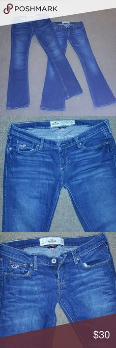 Two Hollister jeans In great condition, both size 1S. W 25 L 31 Hollister Pants Boot Cut & Flare
