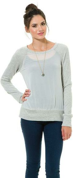 Daydreamer LA Transparent Chiffon Raglan. http://www.swell.com/New-Arrivals-Womens/DAYDREAMER-LA-TRANSPARENT-CHIFFON-RAGLAN?cs=HG