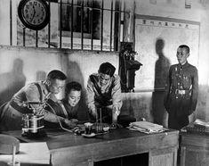 China: Nationalist army officers 1938//Robert Capa