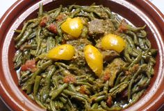 Green bean tagine can be seasoned mildly, or add ground red pepper for an extra kick. Check out this recipe.