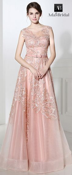 Attractive Tulle Scoop Neckline A-line Prom Dresses With Lace Appliques