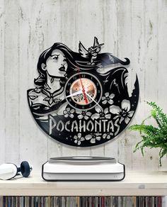 1/8/6/Horloge del reloj de pared de reloj/Disney Pocahontas