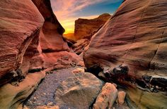 The Red Canyon - one of the marvelous hiking trails in our area not to be missed!
