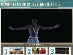 Tupac Hologram performing with Snoop & Dre at #Coachella