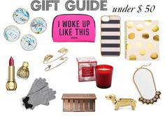 gift guide under $ 50 - GIFT GUIDE 2014