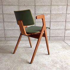 Robin Day; Oak 'Bridge' Chair, 1950s.
