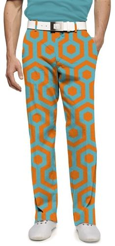 Mens Golfing Pants by Loudmouth Golf - South Beach.  Buy it @ ReadyGolf.com
