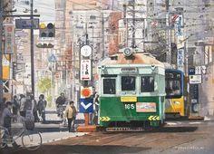 Watercolors by Masato Watanabe