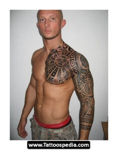 Hawaiian Tropical Flower Tattoos