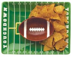 Boston Warehouse Touchdown Field Chip-and-Dip Set