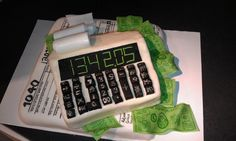 Cake for accounting firm to celebrate end of tax season Accounting Firms, The Help, Cake Decorating, Nyc, New York, Cakes, Business, Accounting Companies, New York City