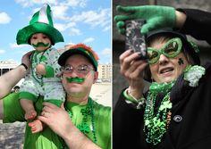 El mundo se tiñe de verde por San Patricio. St Patrick's day