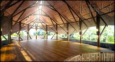 Yoga and Rejuvenation Retreat in Bali with Nadine, March 2014 Yoga Studio Design, Meditation Retreat, Meditation Center, Yoga Meditation, Air Yoga, Costa Rica, Bamboo House Design, Landscape And Urbanism, Outdoor Yoga