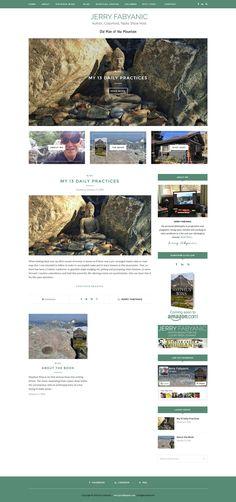 www.JerryFabyanic.com Portfolio Website, Web Design, Books, Livros, Design Web, Livres, Book, Website Designs, Libri