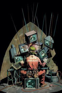 The Joker - Batman #14, by Greg Capullo
