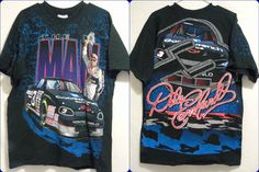 vintage Dale Earnhardt THE MAN #3 Nascar T-shirt men's Large L Chase Race Wear #Chase #MrGoodwrench