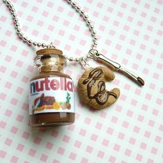 Find images and videos about chocolate and nutella on We Heart It - the app to get lost in what you love. Nutella Go, Nutella Snacks, Nutella Recipes, Starbucks Strawberry, Bff Necklaces, Funny Phone Wallpaper, Mini Things, Chocolate Lovers, Cute Food
