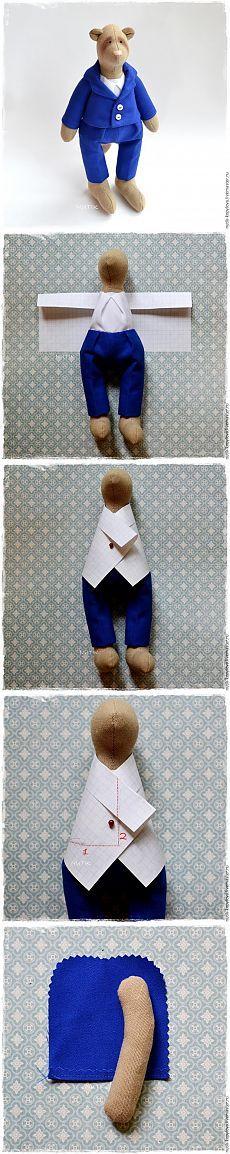 Cosemos la chaqueta para los juguetes - Masters Feria - hecho a mano, hecho a mano