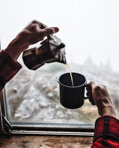 No signal, no electricity, just coffee and mountains.Photo:...