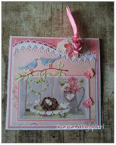 CreAnita: Lente / verjaardagskaart