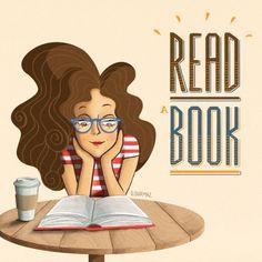 Empezamos el lunes leyendo y continuamos el martes, el miércoles, el jueves… Ningún día sin leer (ilustración de Derya Durmaz)