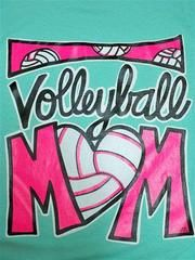 Southern Chics Funny Volleyball Mom Sports Sweet Girlie Bright T Shirt | SimplyCuteTees