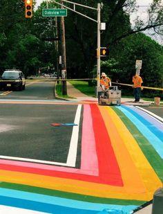 50 Super Fun Summer Sidewalk Chalk Art Ideas - This Tiny Blue House Rainbow Aesthetic, Summer Aesthetic, Fred Instagram, Sidewalk Chalk Art, Tips & Tricks, Happy Vibes, Jolie Photo, Over The Rainbow, Mellow Yellow