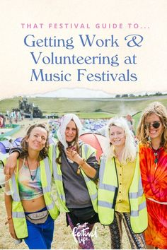 Work at Festivals: How to Volunteer or find Festival Work next Summer Festival Guide, Food Festival, Festival Fashion, Love Saves The Day, Save The Day, Boutique Camping, Bestival, Training Day
