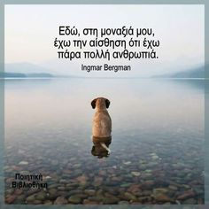 Famous Quotes, Love Quotes, Feeling Loved Quotes, Greek Quotes, Dogs And Puppies, Stickers, Thoughts, Feelings, Sayings