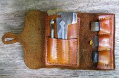 Contemporary Makers: Flint & Tool Wallet by Eric Ewing