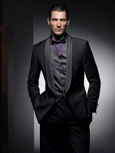 What I Will Wear At My Wedding Lol One Day Black Purple Tux