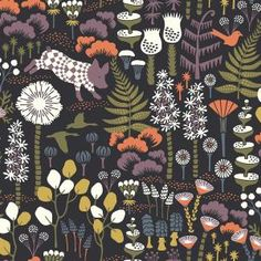 Animal Wallpaper, Black Wallpaper, Wallpaper Roll, Funky Wallpaper, Beautiful Wallpaper, Violet Pastel, Wonderland, Discount Wallpaper, Scandinavian Wallpaper