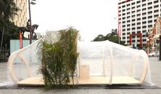 Cocoon by Woods Bagot is a Comforting Emergency Shelter for Four