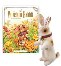 'The Velveteen Rabbit' & Steiff Velveteen Rabbit-Older children will love the realistically air brushed mohair details that Steiff is famous for, as seen in this Velveteen Rabbit.Children of all ages love the story that accompanies this gift set; a timeless tale of redemption through love that encourages us to look beyond outward appearances to the true heart of things.C.Magic Cabin