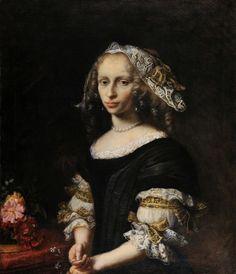 Portrait of Konstanze von Holten Schumann by Daniel Schultz, c. 1674