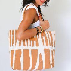 Autumn Summer, Fall, Silk Screen Printing, Everyday Bag, Zebra Print, Cotton Canvas, Make It Yourself, Purses, Pattern