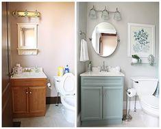 Baños renovados antes y después. Decoración hogar, Decoralia.es