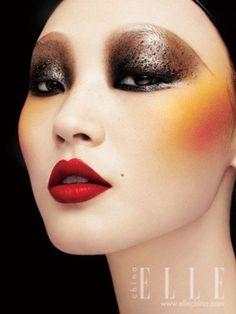 Maquillaje inspirado en los años 30