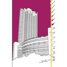 London Buildings Barbican Notebook