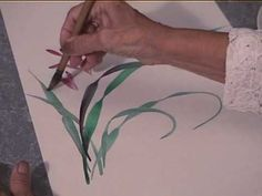 ▶ Yolanda: A Sumi-e Demonstration - YouTube