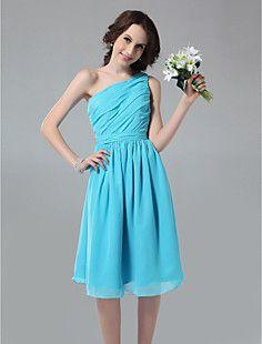 HANNELE - Vestido de Dama de honor de Gasa – USD $ 99.99