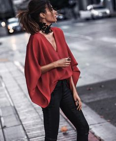 Windswept in red FAS